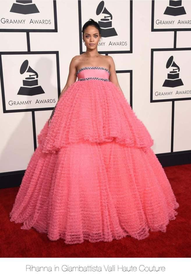 Grammys-Rihanna
